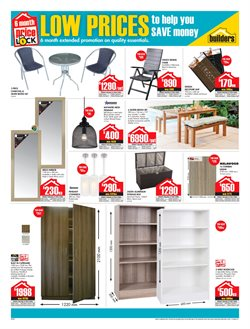 Wardrobe offers in the Builders Trade Depot catalogue in Bloemfontein