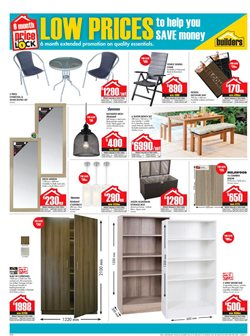 Wardrobe offers in the Builders Superstore catalogue in Bloemfontein