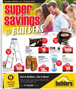 Builders Superstore deals in the Soweto special