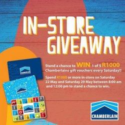 Chamberlain catalogue ( 3 days left)