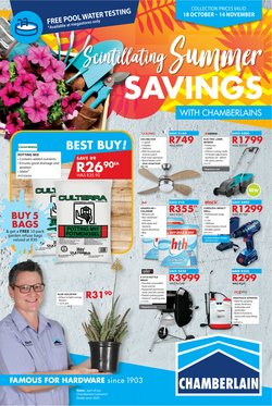 DIY & Garden offers in the Chamberlain catalogue ( 19 days left)