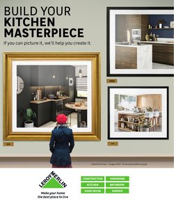 Home & Furniture offers in the Leroy Merlin catalogue ( 3 days left)