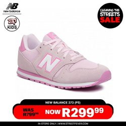 New Balance offers in the Street Fever catalogue ( Expires today)