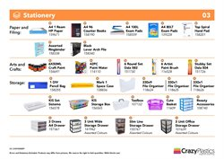 Home & Furniture offers in the Crazy Plastics catalogue ( 16 days left )