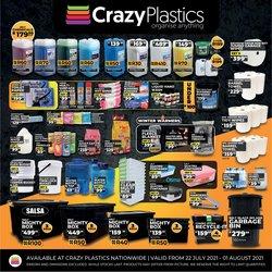 Crazy Plastics offers in the Crazy Plastics catalogue ( 7 days left)
