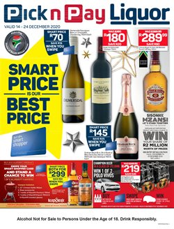 Pick n Pay Liquor catalogue ( Expired )