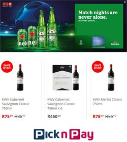 Pick n Pay Liquor catalogue ( 2 days ago )
