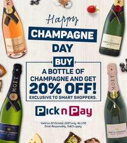 Groceries offers in the Pick n Pay Liquor catalogue ( Expires today)