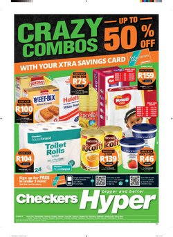 Checkers Hyper catalogue in Johannesburg ( 3 days ago )