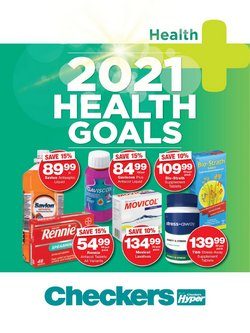 Goal specials in Checkers Hyper