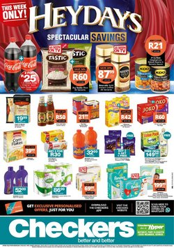 Groceries offers in the Checkers Hyper catalogue in Port Elizabeth ( Expires today )