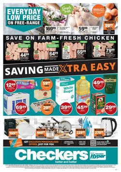 Groceries offers in the Checkers Hyper catalogue in Cape Town ( 4 days left )