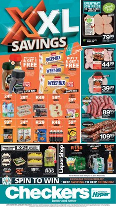 Checkers Hyper offers in the Checkers Hyper catalogue ( Expires tomorrow)