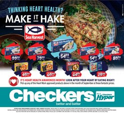 Checkers offers in the Checkers Hyper catalogue ( 8 days left)