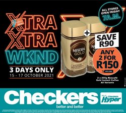 Santa offers in the Checkers Hyper catalogue ( Expires today)