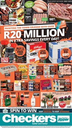 Checkers Hyper catalogue ( Published today)