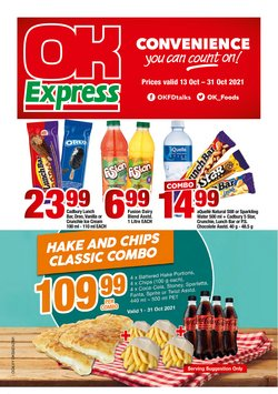OK Express offers in the OK Express catalogue ( 9 days left)