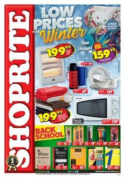 Shoprite Hyper catalogue ( 2 days ago )