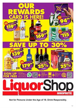 Shoprite LiquorShop catalogue ( 7 days left )