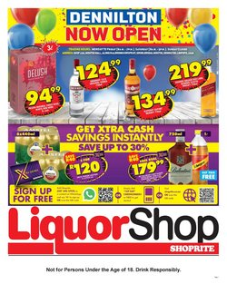 Shoprite LiquorShop catalogue ( Expired )