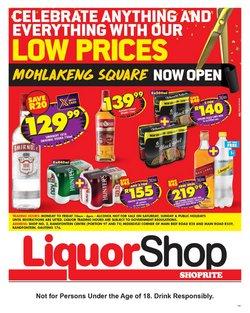 Shoprite LiquorShop catalogue ( Expires today)