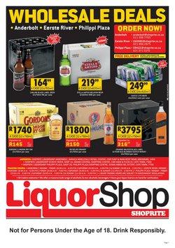 Shoprite LiquorShop catalogue ( 1 day ago)