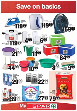 Lamp offers in the Spar catalogue in Cape Town