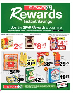 Spar deals in the Pretoria special