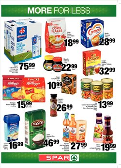 Storage media offers in the Spar catalogue in Cape Town