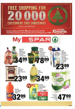 Spar deals in the Cape Town special