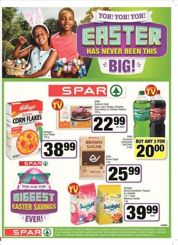 Spar catalogue in Johannesburg ( Published today )