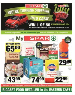 Juice specials in Spar