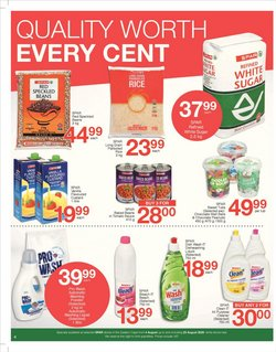 Cleaners specials in Spar