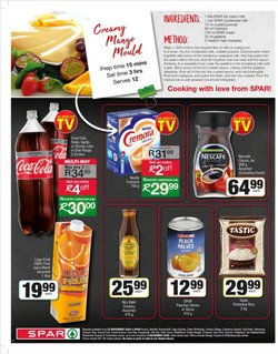 Liqui-Fruit specials in Spar