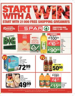 Back to school offers in the Spar catalogue ( 11 days left)