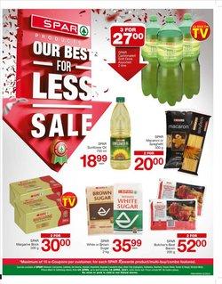 Margarine specials in Spar