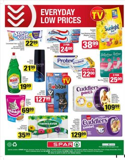 Cat food specials in Spar