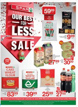 Groceries offers in the Spar catalogue in Cape Town ( 4 days left )