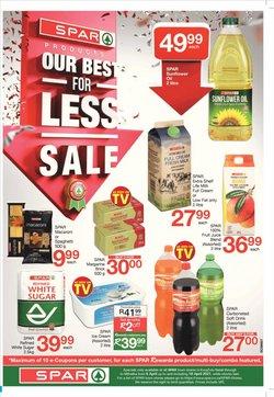 Fresh milk specials in Spar