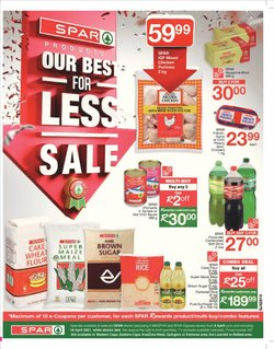 Groceries offers in the Spar catalogue ( 4 days left )