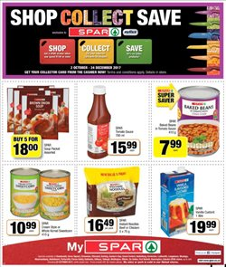 Baked beans offers in the Spar catalogue in Cape Town