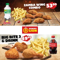 Restaurants offers in the Hungry Lion catalogue ( Published today)