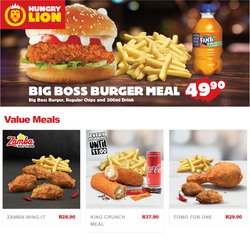 Hungry Lion catalogue ( 5 days left)