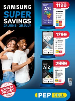 Electronics & Home Appliances offers in the PEP CELL catalogue ( Expires today)