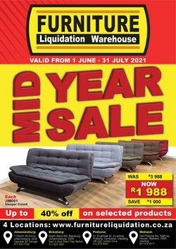 DIY & Garden offers in the Furniture Liquidation Warehouse catalogue ( 6 days left)