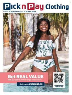 Pick n Pay Clothing offers in the Pick n Pay Clothing catalogue ( 6 days left)