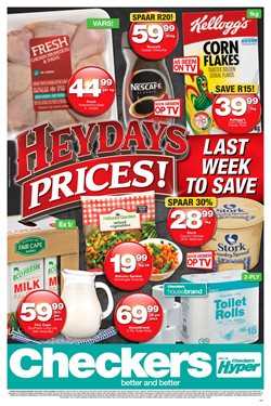 Groceries offers in the Checkers Hyper catalogue in Cape Town