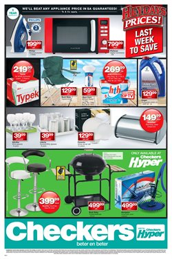 Tennis offers in the Checkers Hyper catalogue in Cape Town