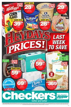 Diapers offers in the Checkers Hyper catalogue in Pietermaritzburg