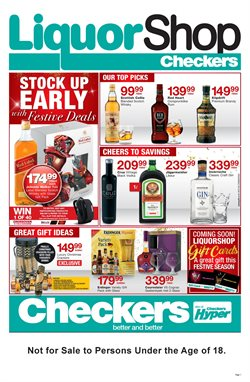 Christmas offers in the Checkers Hyper catalogue in Cape Town